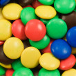 Close-up of multicolored sweets — Stock Photo