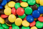 五彩糖果的特写 — 图库照片