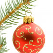 Stock Photo: Christmas tree ball