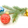 colorful christmas decoration — Stock Photo