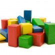 Wooden building blocks — Stock Photo #3679704