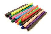 Multicolored felt tip pens — Stock Photo