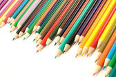 Set of multicolored pencils — 图库照片