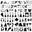 Stock Vector: Musical instruments2