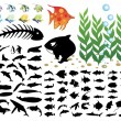 Royalty-Free Stock Vector Image: Sea collection