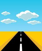 Road — Cтоковый вектор