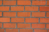 New red brick. — Stock Photo