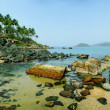 Palolem Beach lagoon, Goa — Stock Photo #2859535