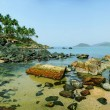 Stock Photo: Palolem Beach lagoon, Goa