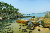 Palolem Beach lagoon, Goa — Stock Photo