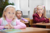 Lesson in elementary school. — Stock Photo