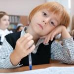 školák v snech — Stock fotografie