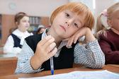 Uczeń w snach — Zdjęcie stockowe