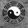 Yin-Yang sign - Stock Photo