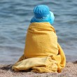 Stock Photo: Child on a beach