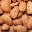 Almond background - Stock Photo