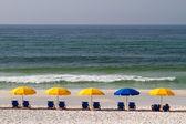 Un paraguas azul — Foto de Stock