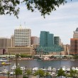 Baltimore City Inner Harbor - Stock Photo