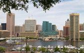 Baltimore City Inner Harbor — Stock Photo