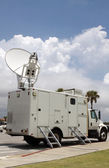 Satellite Truck — Stockfoto