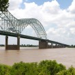 Bridge Over Mississippi - Stock Photo