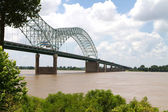 Bridge Over Mississippi — Stock Photo