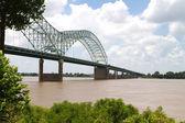 Bridge Over Mississippi — Stock Photo