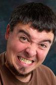 Man Gritting Teeth — Stock Photo