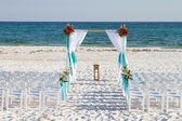Wedding Beach Archway — Stock Photo