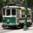 Electric Trolley Car - Stock Photo
