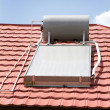 Solar Water Heater - Foto Stock