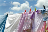 Clothesline — Stock Photo