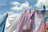 Clothesline — Stock Photo