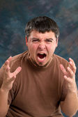 Enraged Man — Stock Photo