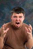 Enraged Man — Stock Photo
