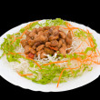 Stock Photo: Chinese food. Fried pork