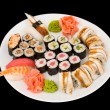 Sushi set - Stock Photo