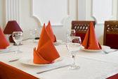 Table de restaurant — Photo
