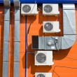 Stock Photo: Ventilation and air conditioners