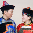 Mongolian couple — Stock Photo