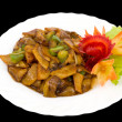 Stock Photo: Chinese food. Clipping path.