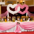 Wedding banquet table — Stock Photo #3260528