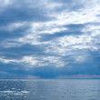 Baikal after thunderstorm - Stock Photo