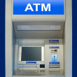 Automatic cash terminal — Stock Photo
