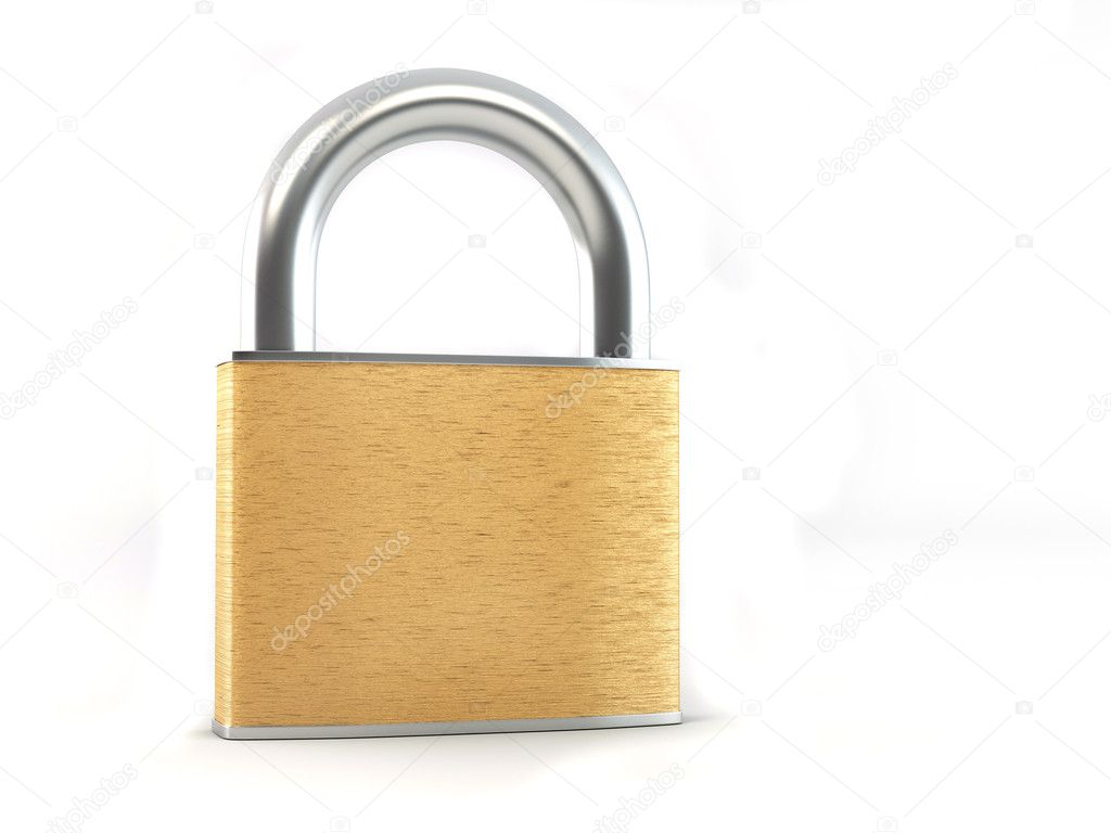Lock. 3d — Stock Photo #2821682