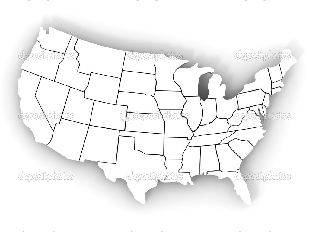 Vvisitingmexico Images Us Map Outline D - 3d map usa states