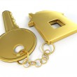 Key with home — Stock Photo #3586904