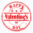 Stamp happy valentine&#039;s day and i love you. - Foto Stock