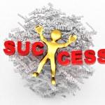 Conceptuele afbeelding van succes — Stockfoto