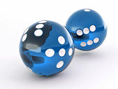 Dice. Shere — Stock Photo